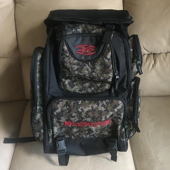 0a1f5a62e55 Empire Bags | Camo Paintball Large Backpack | Poshmark